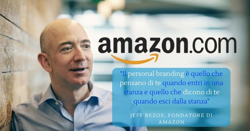 Jeff Bezos Amazon personal branding