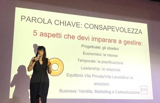 imprenditoria femminile come gestire un progetto Roberta Moretti