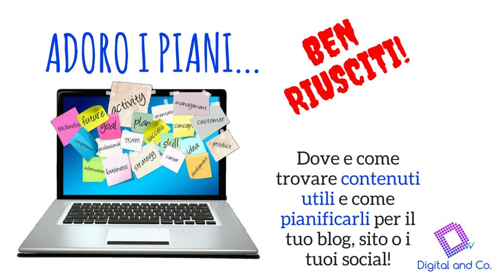 corso piano e calendario editoriale 2
