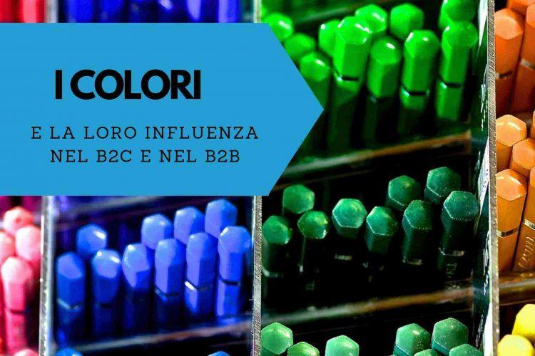 Influenza dei colori nel retail e nel b2b